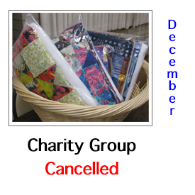 Charity Group Canceled in December