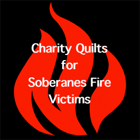 Status of Charity Quilts for Soberanous Fire Victims
