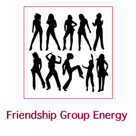 Friendship Group Energy