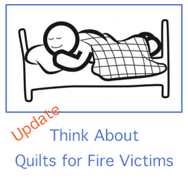 Request for Quilts for Fire Victims