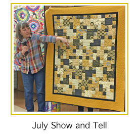 Show and Tell for July