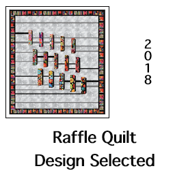 2018 Computer Generated Raffle Quilt Design