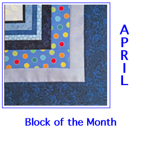 Feeling The Blues Block of the Month