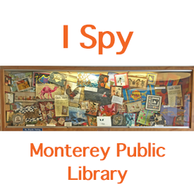 Monterey Library Display