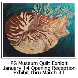 Pacific Grove Museum Quilt Exhibit