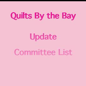 Quilt Show Update Committee List