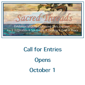 Sacred Threads Call for Entries
