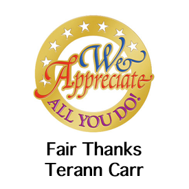 Fair Thanks Terann Carr