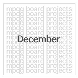 Board responsibilities for December