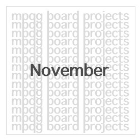 Board Projects for November