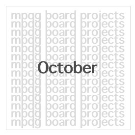 October Board Projects