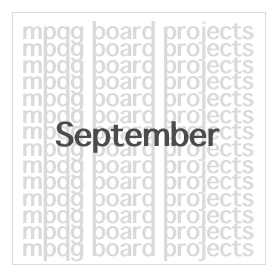 September Board Projects