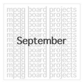 Board Projects for September