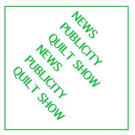 Quilt Show News and PR
