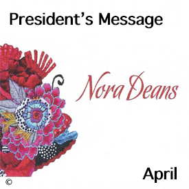 Presidents Message for April 2017