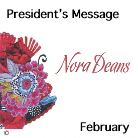 President's message for February
