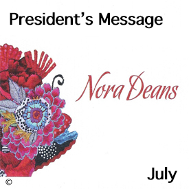 President's Message for July