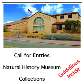 Call for Entries, Pacific Grove Natural History Museum