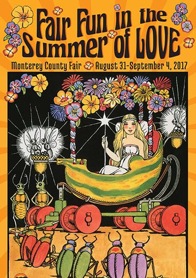 2017 Monterey County Fair Poster
