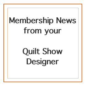 Quilt Show Update from the Designer