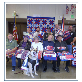 Quilts of Valor Honorees