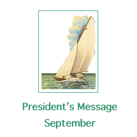 New President's Message for September