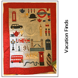 London Calling quilt store
