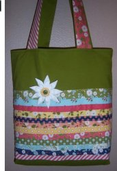 Gift bags made by Becky - Cotton Candy Quilt Shop