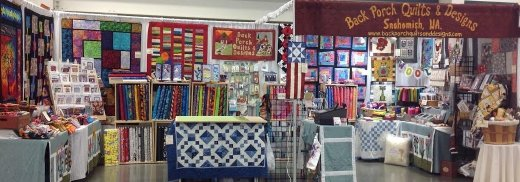 Back Porch Quilts & Designs, LLC Vendor Booth