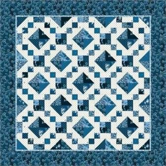 Back Porch Quilting Templates : Meandering Mosaic