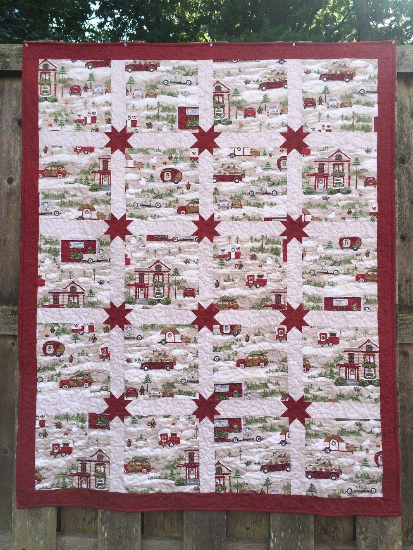 Christmas journey quilt kit rrq original - Quilt rits ...
