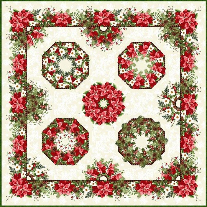 Kaleidoscope Wall Hanging Quilt Kit