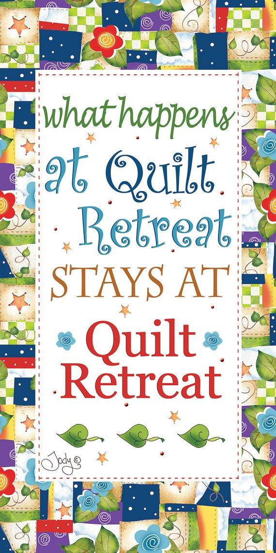 6 x 12 Quilt Retreat Art Panel