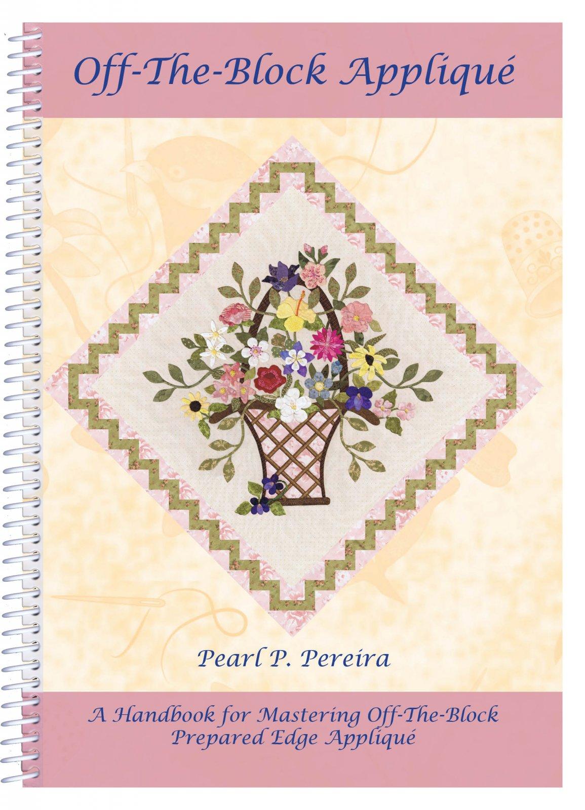 P3-172 Off-The-Block Applique Book