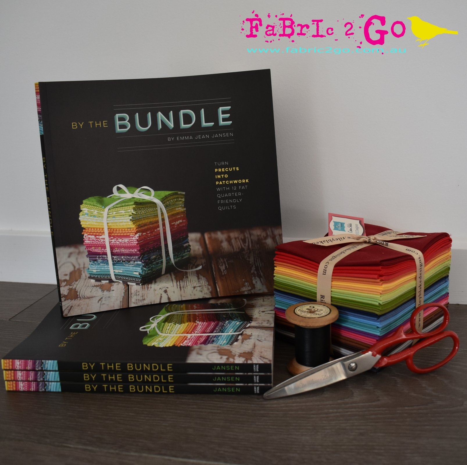 By the Bundle Book by Emma Jean Jansen - Signed Copy
