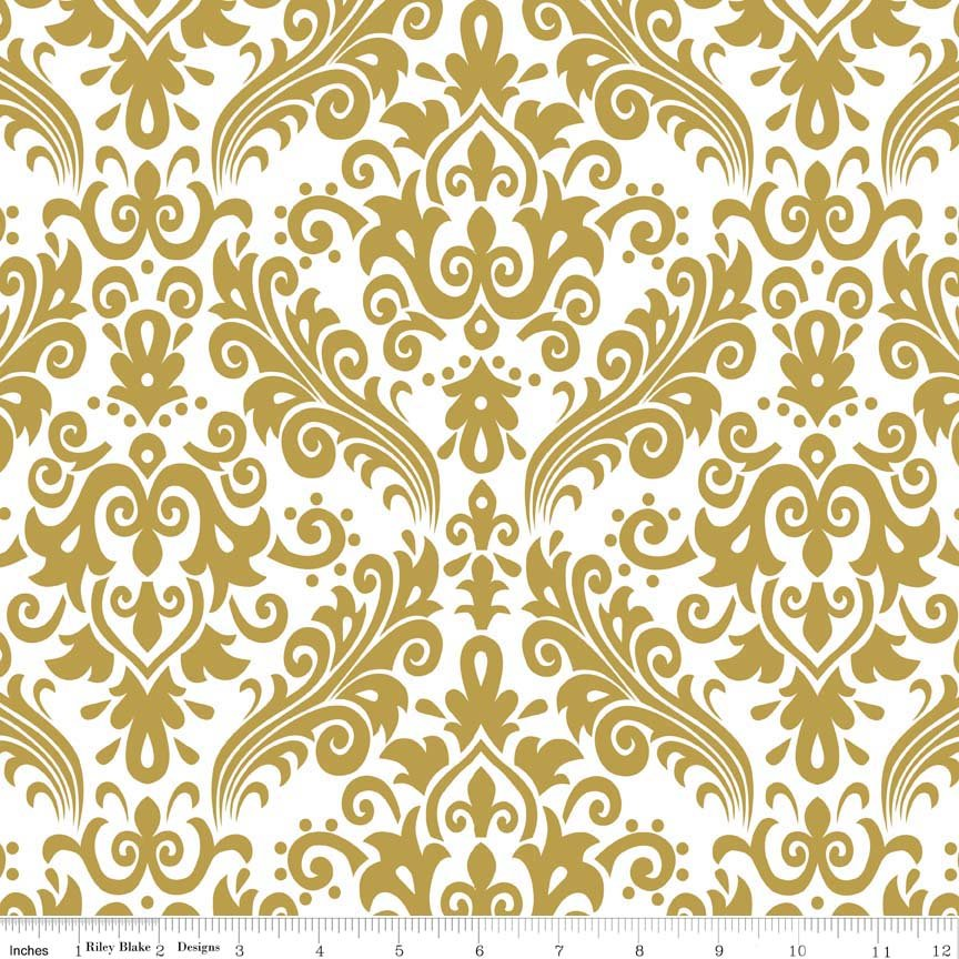 Sparkle Medium Damask Gold SC820-52