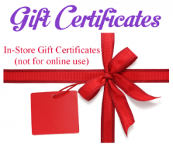 Gift Certificate to The Fabric Garden