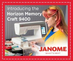 New Janome Horizon Memory Craft 9400