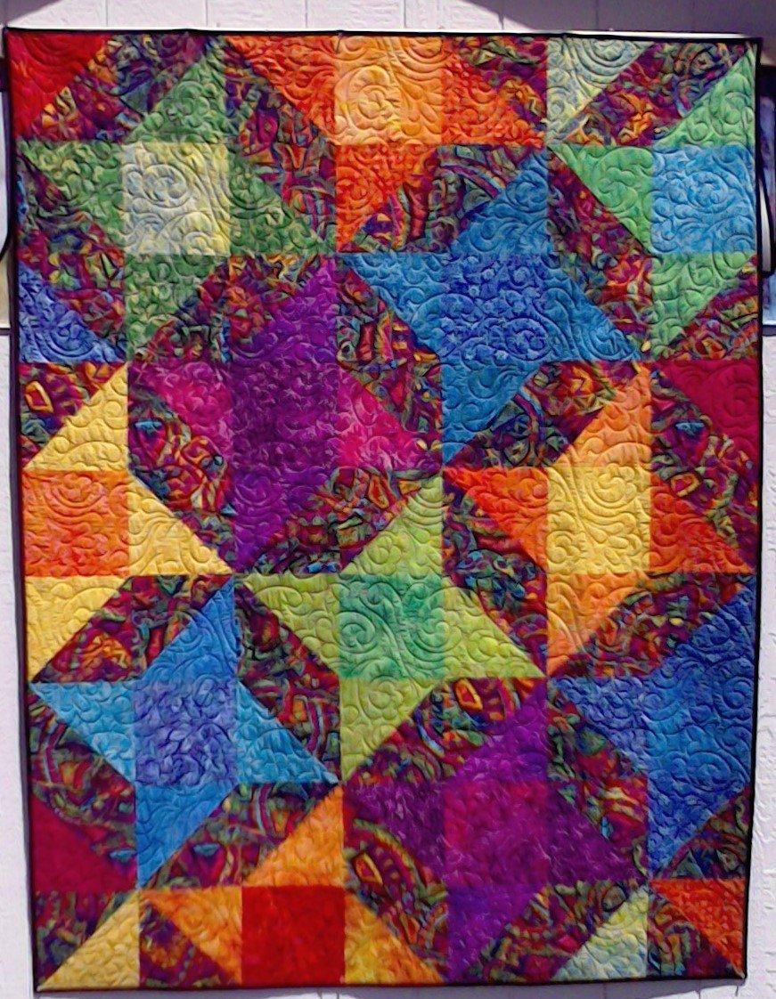 Quilt for sale bolds batiks for Quilts for sale