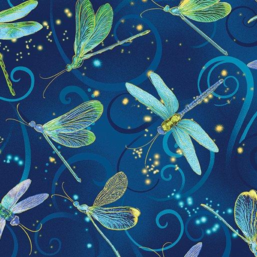 Benartex Dance Of The Dragonfly 8498 55 Dancing