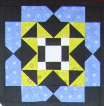 Block of the Month:  Kit for Month 5 of 6