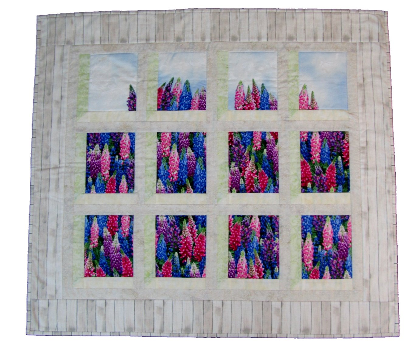 Cottage View Wall Hanging Kit - a Fabric Garden Exclusive