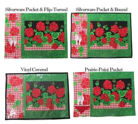 The Fabric Garden - Pick Your Placemats Pattern