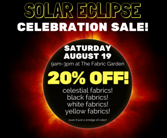 solar eclipse celebration sale - click for details
