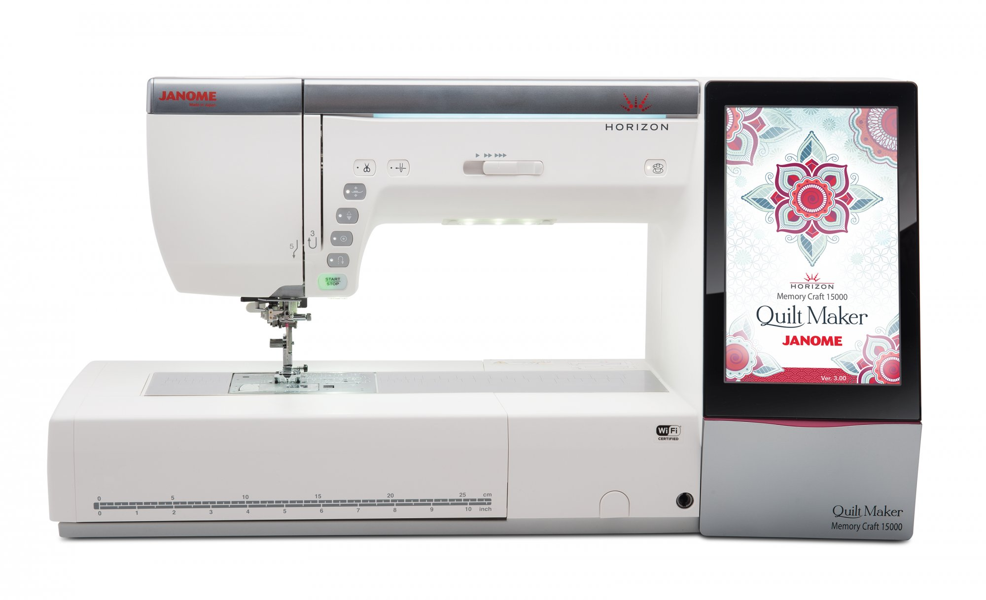 NEW! Janome Horizon Quilt Maker Memory Craft 15000 | Quilting-Sewing-Embroidery