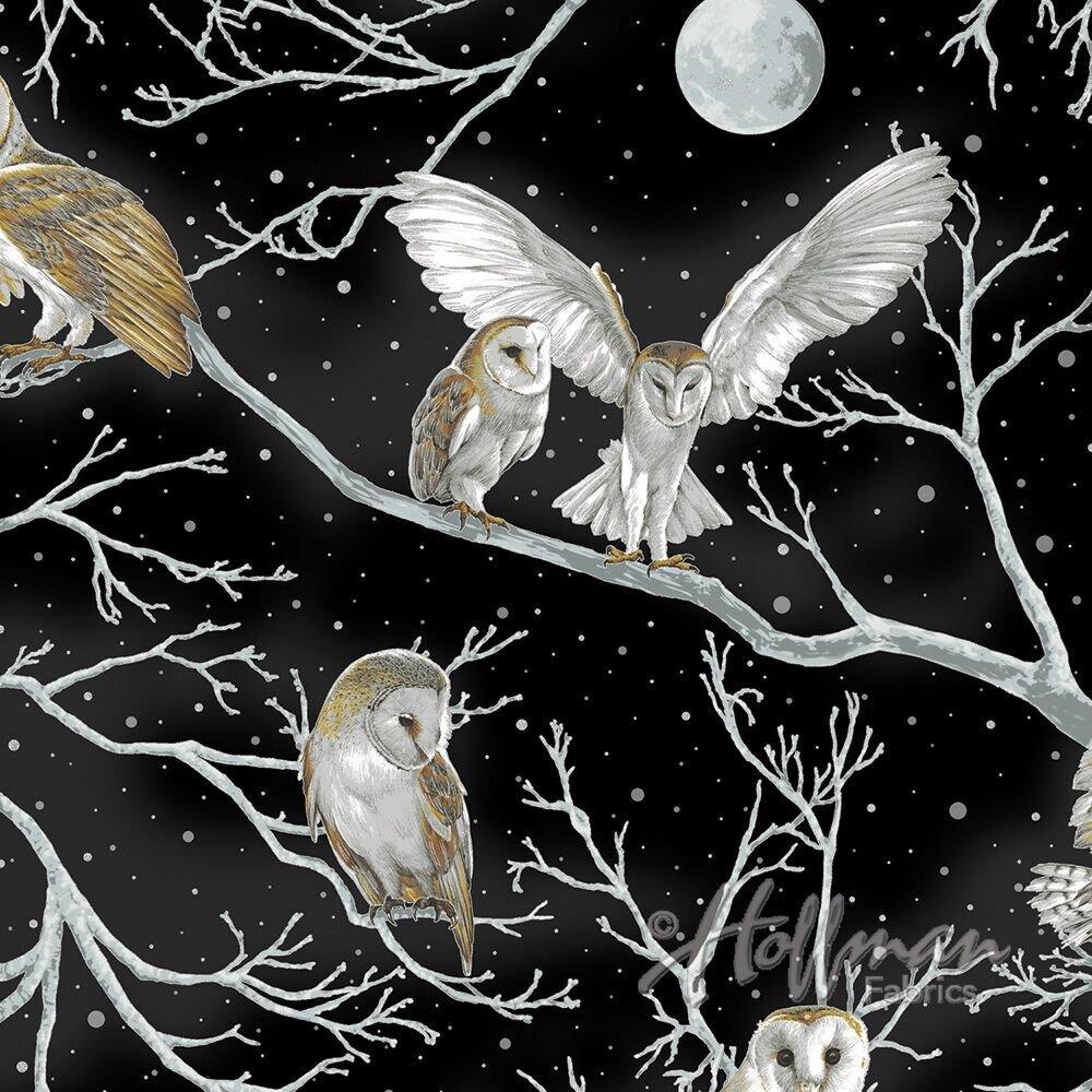 Hoffman Nocturne | Black/Silver Owl P7591-4S