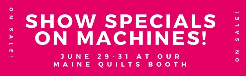 Show Specials on Machines
