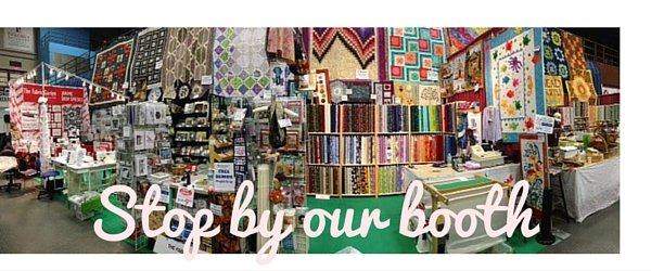Stop by our booth at Maine Quilts 2016!