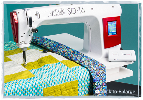 New Artistic Quilter SD-16 Sit Down Longarm