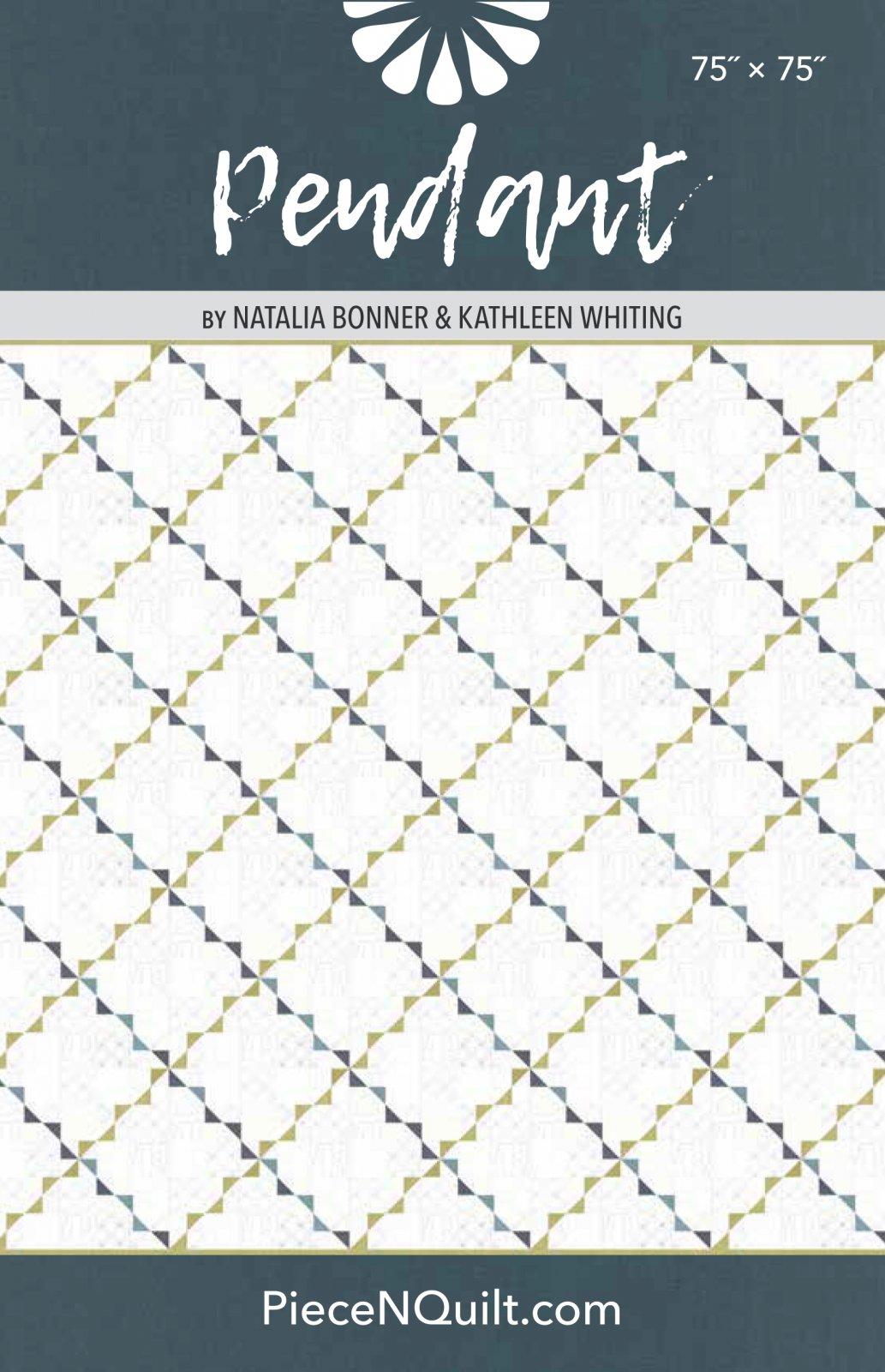 Pendant Quilt Pattern - PDF Version